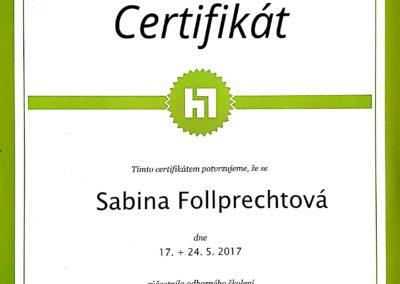 certifikát PPC